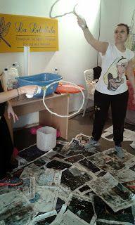 LIBELLULANDO....: corso bolle di sapone - preparazione spettacolo an...