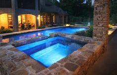 Pools - mediterranean - swimming pools and spas - houston - Preferred Pools Inc.