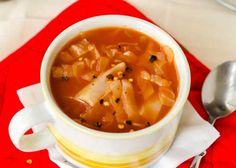 This is my Aunt Carol's cabbage soup recipe made vegan--don't be alarmed by the big serving size! Although this recipe makes a lot of soup, there are so few calories per serving that you can have as many bowls as ...