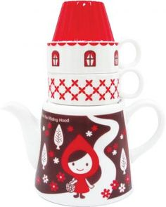 Isn't it just the cutest little thing!    Little red riding hood tea set from Concept Japan - $75