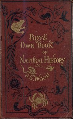 The boy's own book of natural history  - F