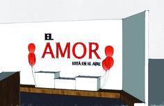 Escaparate interior día de los enamorados. #diseño #escaparateinterior #sketchup
