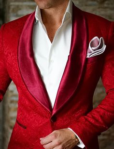 S by Sebastian Dinner Jacket Red Paisley . . . . . der Blog für den Gentleman - www.thegentlemanclub.de/blog