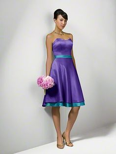 Alfred Angelo Bridal Style 7044 from Bridesmaids Purple Storm & Tealness