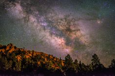 Arches Trail and the Milky Way at Red Canyon, Dixie National Forest, Utah Clear Night Sky, Night Clouds, Night Skies, Milky Way Photography, Light Pollution, Dark Skies, National Forest, Stargazing, Travel Usa