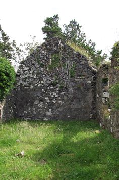 Abandoned church, Ardnamurchan, Scotland