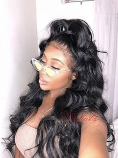 Body Wave Brazilian Remy Hair Full Lace Human Hair Wigs With Baby Hair Glueless Lace Wigs wave Pre Plucked Natural Hairline Density Virgin Indian Hair, Virgin Hair, Curly Hair Styles, Natural Hair Styles, Hair Care, Body Wave Hair, My Hairstyle, Love Hair, Remy Hair