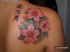 Tatuaje de kumaro - Flores
