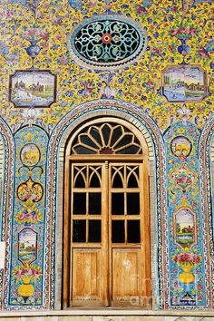 The Golestan Palace In Tehran Iran By Robert Preston  you have to walk through it to appreciate it