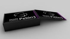 muestra en 3d de como quedarían las tarjetas para el Mesón