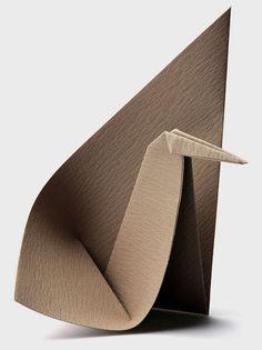 Origami bird, Paulo Mulatinho