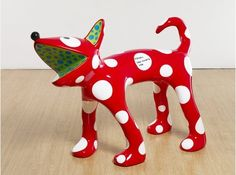 Sculpture by Yayoi Kusama, Installation View , via Victoria Miro Gallery