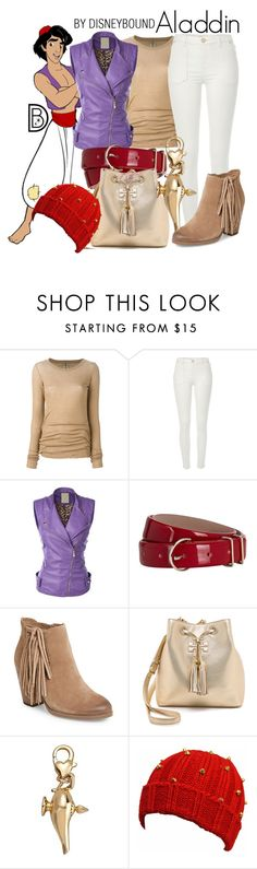 """Aladdin"" by leslieakay ❤ liked on Polyvore featuring Rick Owens, River Island, Hobbs, Vince Camuto, Tory Burch, Disney, disney, disneybound and disneycharacter"