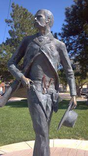 Long weekend in Dodge City, KS? Statue of Wyatt Earp Kansas Missouri, Kansas Usa, State Of Kansas, Kansas City, Old West Photos, Dodge City, Wyatt Earp, American Legend, Roadside Attractions