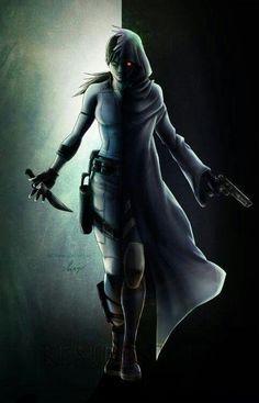 "Jill Valentine in ""Resident Evil 5."""