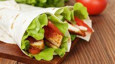 طريقة عمل ساندويش فاهيتا الدجاج - #Chicken #fajita #sandwich