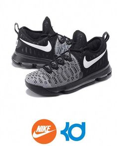 newest 9587e 356fa These Men s Nike Gray Black Kevin Durant IX 9 Basketball Shoes are perfect  equipments for