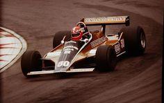 Rupert Keegan (GBR) (RAM Ático Rizla Racing), Williams FW07 * - Ford-Cosworth DFV 3.0 V8 (11º terminado)   * - No funciona Williams FW07 preparado por el equipo de carrera de Brands Hatch Racing, potencialmente, también conocida como memoria RAM Racing   1980 Gran Premio de Inglaterra, Brands Hatch   © John Millar | Fuente: Fickr   http://f1-history.deviantart.com/art/Rupert-Keegan-Great-Britain-1980-385386960