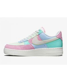 finest selection 7918e 75be8 Nike Air Force 1 Low 07 QS Ice Blue Sail Hyper Turq Barely Volt Air Force