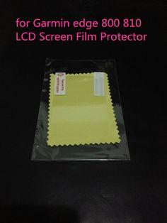 送料無料用ガーミンエッジ800/810バイクコンピュータクリア液晶画面フィルムプロテクターとクリーニングクロス