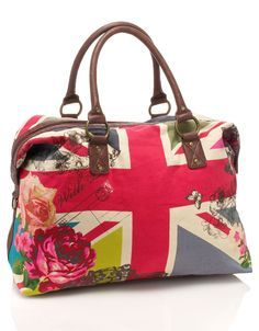 Union Jack Weekender Bag
