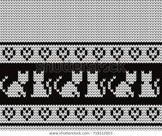 Cross Stitch Tree, Mini Cross Stitch, Beaded Cross Stitch, Cross Stitch Borders, Cross Stitch Charts, Fuse Bead Patterns, Beading Patterns, Stitch Patterns, Knitting Charts