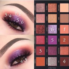 Huda Beauty is our makeup inspiration! This eyeshadow palette is just gorgeous and the shades have such great range you can really create tons of new creative looks with this!