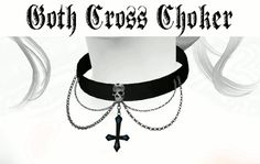 Sims 4 Updates: Lady Hayny - Accessories, Jewelry : Goth Cross Choker, Custom Content Download!