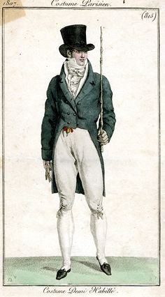 Costume Parisien 1807: Costume Demi Habillé