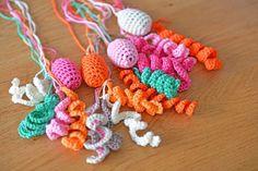 Crochet key chain | Gehaakte sleutelhanger Jip by Jan