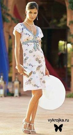 Free Pattern summer sundress  Scroll down for link