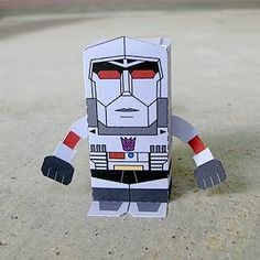 Megatron is the founder of the Decepticon uprising, and their most well-known and feared leader. As a young, charismatic leader forged i...