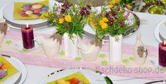 Bunte Frühlingsdeko Bunt, Table Decorations, Home Decor, Seasons, Summer, Homemade Home Decor, Decoration Home, Dinner Table Decorations, Interior Decorating