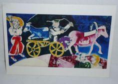 MARC CHAGALL The Cattle Dealer, 1922-1923 TASCHEN Postcard