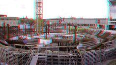 https://flic.kr/p/ZpejcW | Depot Collectiegebouw Boijmans Rotterdam 3D | anaglyph stereo red/cyan