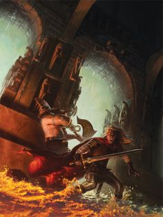 Gotrek and Felix in the Sewers - Winona Nelson