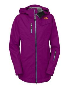 @The North Face Women's Cymbiant Jacket is a stylish & technical piece that may actually make you a better skier.