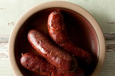A recipe for homemade andouille sausages, Cajun style. How to make andouille sausage at home, with any meat: pork, venison, bear, beef, etc.