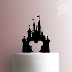 Disney Castle Cake Topper 101