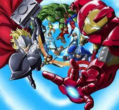 'Marvel Disk Wars: The Avengers' Anime Coming From Walt Disney Company Japan For 2014