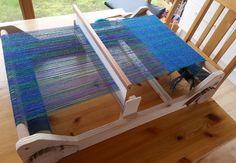 STRICK 17: Bauplan für einen Webrahmen mit Gatterkamm build your own weaving loom