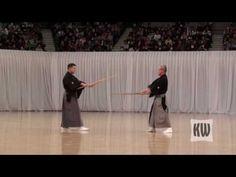 Hyoho Niten Ichi-ryu Kenjutsu Official Budokan Demonstration 2010 - YouTube