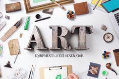 Free Art Equipments – Scene Generator Demo