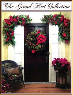 christmas wreath ideas love the corner swags