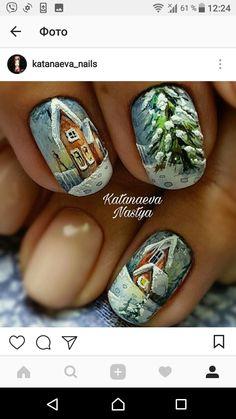 Winter Nail Art, Winter Nail Designs, Christmas Nail Designs, Toe Nail Designs, Christmas Nail Art, Winter Nails, Chic Nails, Trendy Nails, Different Nail Designs