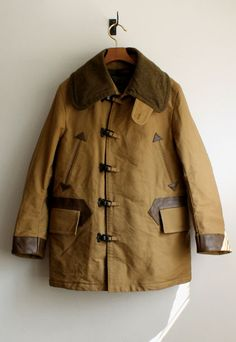 Nigel Cabourn:WW1 CLIP JACKET