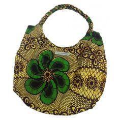 Organic Retro Flower Bag