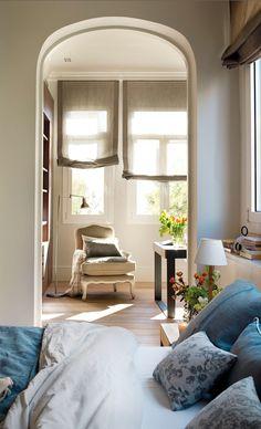 bedroom, kitchen, garden