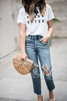 59141ee234b 34 Casual Chic Outfit Ideas for Summer