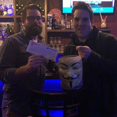 Congratulations to Team 'Woodchuck Mangione' for winning our Featured Brewery Prize to New Jersey Brewing Co at Ole Tapas Bar! . . #trivianight #triviawinners #TriviaRevolution #notyouraveragetrivia #revolutioniscoming #lettherevolutionbegin #jointherevolution #revolution #guyfawkes #craftbeer #craftbeerrevolution #craftbeernotcrap #craftbeerporn #craftbeernj #njcraftbeer #drinklocal #NJCB #NJCBmember #njbeer #njbrewery #tuesdaytrivia